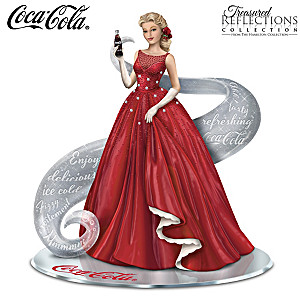 """A Timeless Reflection With COCA-COLA"" Figurine"