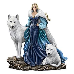 Queen Alabaster, Guardian Of The Moon Figurine