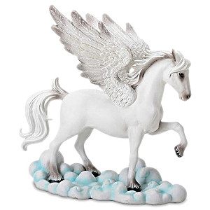 Pegasus White Figurine