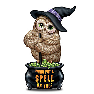 Whoo Put A Spell On You? Figurine