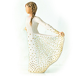 Butterfly Willow Tree Figurine