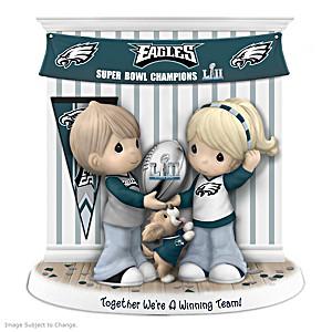 Precious Moments Eagles Super Bowl LII Champions Figurine