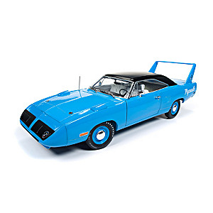 1:18-Scale Petty Blue 1970 Plymouth Superbird Diecast Car