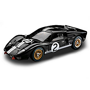 1:12-Scale Ford GT40 1966 Le Mans Winning Diecast Car
