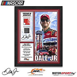 Dale Jr. Racing Moments Wall Decor