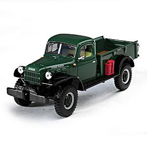 1:30-Scale 1949 Dodge Power Wagon Diecast Pickup Truck