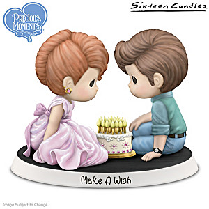"Precious Moments Sixteen Candles ""Make A Wish"" Figurine"