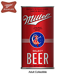 Miller Beer Replica 1936 Can Figurine