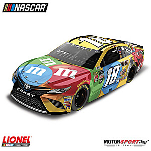 Kyle Busch 2018 M&M's Camry 1:24-Scale Diecast Car