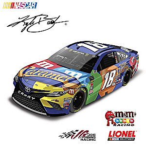 Kyle Busch No. 18 M&M's Caramel 2018 Diecast Car