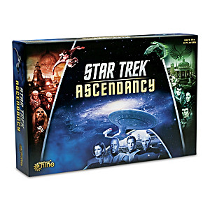 STAR TREK: Ascendancy Board Game With Over 200 Miniatures