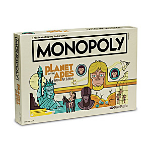 The Planet Of The Apes Monopoly Retro Art Edition Game