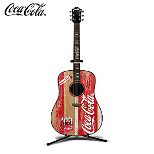 "COCA-COLA ""A Refreshing Tune"" Guitar Sculpture"