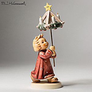 """""""Advent, Advent Christmas By Candlelight"""" Hummel Figurine"""
