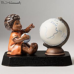 """Vintage M.I. Hummel """"African Wanderer"""" Porcelain Figurine"""