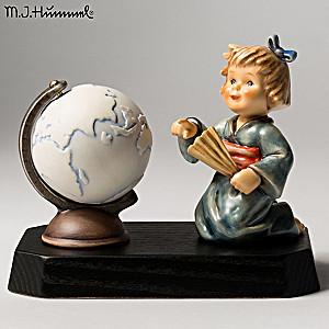 """Vintage M.I. Hummel """"Asian Wanderer"""" Porcelain Figurine"""