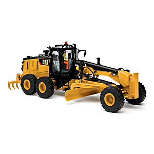 1:50-Scale CAT 14M3 Motor Grader Diecast Tractor