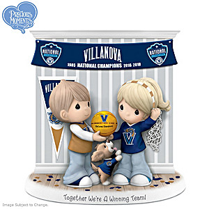 2018 NCAA Champions Wildcats Precious Moments Figurine