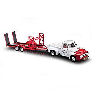 1:18-Scale SO-CAL Speed Shop Diecast Push Truck & Trailer