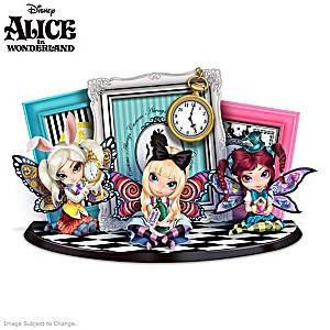 Jasmine Becket-Griffith Alice In Wonderland Figurine Set