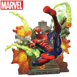 MARVEL SPIDER-MAN Illuminated Sculpture