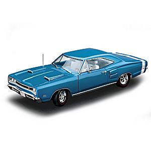 1:18-Scale Blue Iridescent 1969 Dodge Coronet Diecast Car