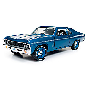 1:18-Scale 1969 Chevy Nova Yenko Coupe Diecast Car