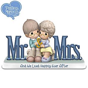 Precious Moments Mr. & Mrs. Couple Figurine