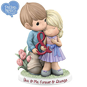 Precious Moments Porcelain Couple Figurine