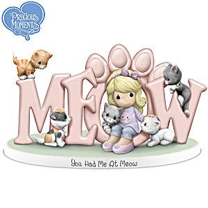 Precious Moments Kitten Figurine