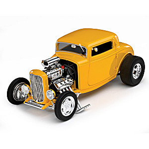 1:18-Scale 1932 Ford Deuces Wild 3-Window Diecast Coupe