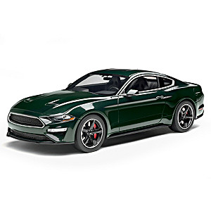 "1:18-Scale 2019 Mustang ""Bullitt"" 50th Anniversary Sculpture"