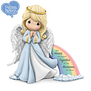 Precious Moments Angel Bereavement Figurine With Sentiment