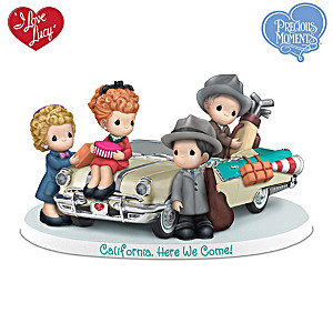"I LOVE LUCY ""California, Here We Come"" Figurine"