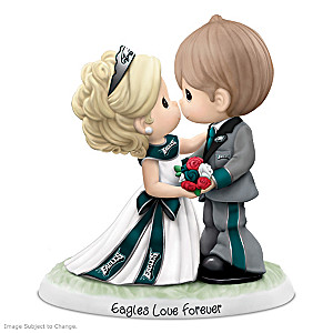Precious Moments Eagles Love Forever Porcelain Figurine