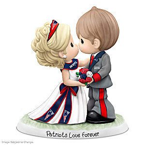 Precious Moments Patriots Love Forever Porcelain Figurine