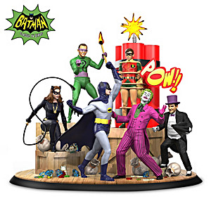 BATMAN Classic TV Series-Inspired Sculpture Lights Up