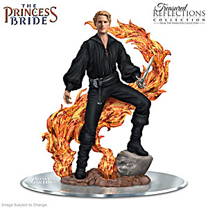 The Princess Bride Westley Figurine With Fire Swamp Flames