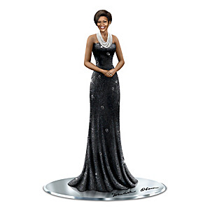 Keith Mallett Michelle Obama Treasured Reflections Figurine