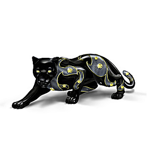 "Keith Mallett ""Power Of The Citrine"" Black Panther Figurine"