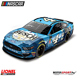 1:24-Scale Kevin Harvick No. 4 Busch Beer 2019 Diecast Car