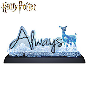 "HARRY POTTER ""Always"" Illuminated Sculpture"