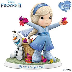 Disney Precious Moments Porcelain Elsa Figurine