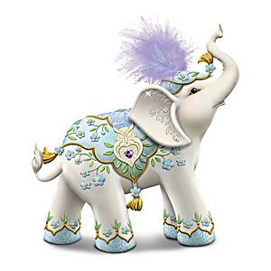 Karen Hahn Alzheimer's Support Elephant Figurine