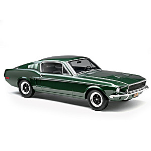 "1:12-Scale 1968 Ford Mustang GT ""Bullitt"" Sculpture"