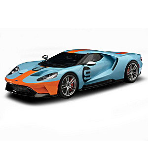 1:18-Scale 2019 Ford GT #9 Heritage Edition Sculpture