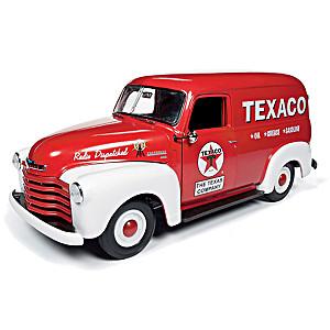 1:18-Scale Texaco 1948 Chevy Diecast Panel Van