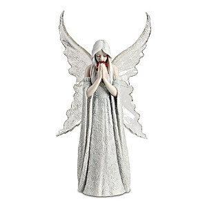 "Anne Stokes ""Only Love Remains"" Remembrance Angel Sculpture"