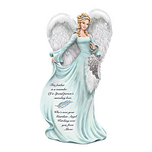 Dona Gelsinger Angel Figurine With Swarovski Crystals