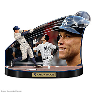 "Yankees Aaron Judge ""Caught In The Action"" Tribute Sculpture"